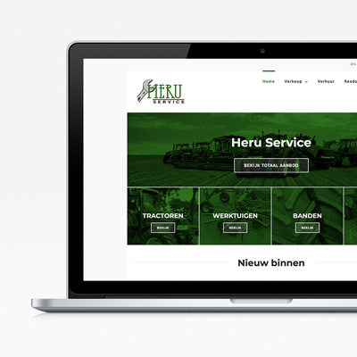 Heru Service website